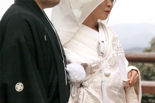 白無垢の似合う女性