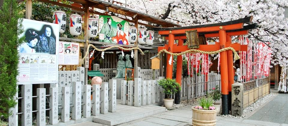 露天神社の写真